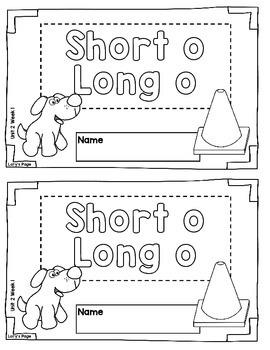 Spelling Booklet 2nd Grade WONDERS Unit 2