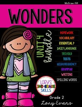 Unit 4 Bundle WONDERS 2nd Grade