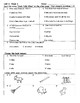 WONDERS, First Grade, Unit 3, Weeks 1-5 Comprehension Tests
