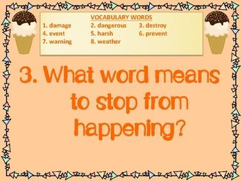 WONDERS 2014/2017 edition Grade 2 Unit 3 Week 4 Vocabulary Practice