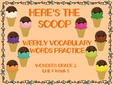 WONDERS 2014/2017 edition Grade 2 Unit 4 Week 5 Vocabulary Practice