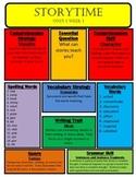 WONDERS Grade 3 Unit 1 Focus Walls in Color