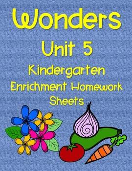 WONDERS HOMEWORK UNIT 5 ENRICHMENT PAGES