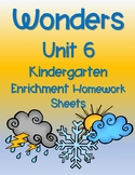 WONDERS HOMEWORK UNIT 6 ENRICHMENT PAGES