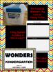 WONDERS ~ Kindergarten Large Wall Cards~ Rainbow Chevron (Filing System & Label)