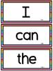 WONDERS ~ Kindergarten Large Wall Words (RAINBOW) , Filing
