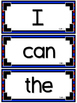 WONDERS~ Kindergarten Large Wall Words~ Red/Blue (All Units)