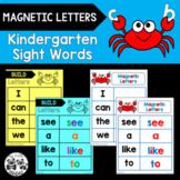 WONDERS Kindergarten MAGNETIC LETTERS Sight Words