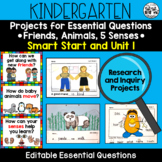 WONDERS Kindergarten Research and Inquiry Projects *Smart