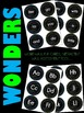 WONDERS Kindergarten Sight Words ~ Blue & Lime ~ Units 1-1