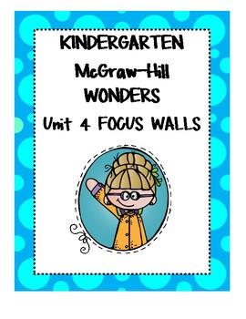 WONDERS Kindergarten Unit 4 Focus Walls