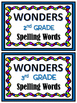 WONDERS ~ Large Wall Card FILING SYSTEM ~ Color & BW *FREE*