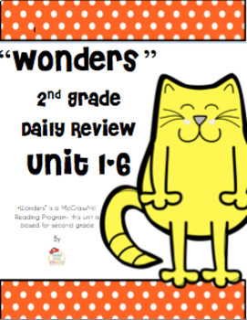 WONDERS Bundled Daily Review Units 1-6 for Second Grade