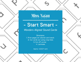 WONDERS SOUND CARDS - START SMART- FIRST GRADE