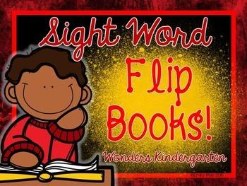 WONDERS Sight Word Flip Books!