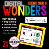 WONDERS Spelling Practice Gr. 2 Unit 3 Week 1 BUNDLE