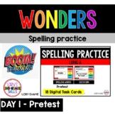 WONDERS Spelling Practice Grade 2 Unit 3 Week 1 Part 1