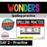 WONDERS Spelling Practice Grade 2 Unit 3 Week 1 Part 2