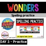 WONDERS Spelling Practice Grade 2 Unit 3 Week 1 Part 3