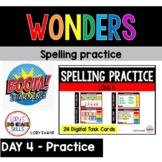 WONDERS Spelling Practice Grade 2 Unit 3 Week 1 Part 4