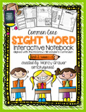 Wonders UNIT 2 1st grade Common Core sight word interactive spelling notebook