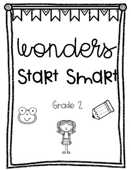 WONDERS UNIT LABELS for 2nd GRADE