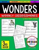 WONDERS Unit 1 Tests  3rd Grade