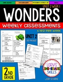 WONDERS Unit 2 Tests Second Grade