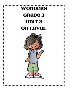 McGraw-Hill WONDERS Grade 3 Unit 3 Focus Walls Bundle