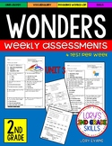 WONDERS Unit 3 Tests Second Grade