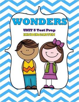 WONDERS Unit 5 Test Prep-Kindergarten