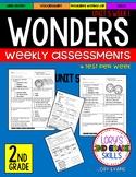 WONDERS Unit 5 Tests Second Grade
