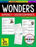 WONDERS Unit  Tests  3rd Grade