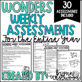 WONDERS Weekly Assessments BUNDLE (First Grade) Units 1-6