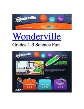 WONDERVILLE: Science Fun Grades 1-9