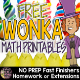 Charlie and the Chocolate Factory Activities   Math Worksheets FREE