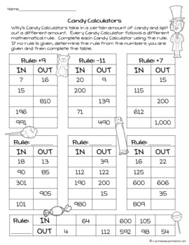 Charlie and the Chocolate Factory Activities | Math Worksheets FREE