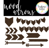 WOOD ARROWS AND ACCENTS