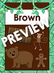 WOODLAND ANIMALS Color Posters (Colour Posters) Back to School Classroom Decor