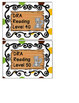 WOODLAND ANIMALS FOREST THEMED CLASSROOM LIBRARY AND BOOK BIN LABELS