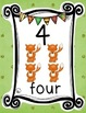 WOODLAND ANIMALS FOREST THEMED NUMBER POSTERS FREEBIE