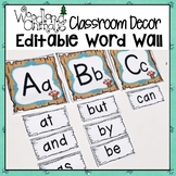 WOODLAND ANIMALS FOREST THEMED WORD WALL SET 3 styles and 117 words