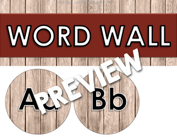 WOODLAND ANIMALS Word Wall      Back to School Classroom Decor