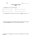 ONTARIO SOCIAL STUDIES, WOODLAND FIRST NATIONS OF CANADA QUIZ