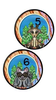 WOODLAND FOREST FRIENDS- LOCKER SIGNS