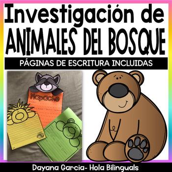 WOODLAND: animal research {SPANISH}