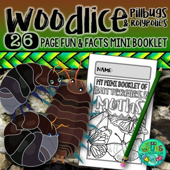 Pill bugs, Sow bugs, Roly Polies & Potato bugs {The Woodlouse family!}