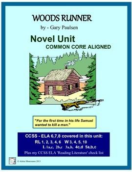 WOODS RUNNER Common Core Aligned Novel Study