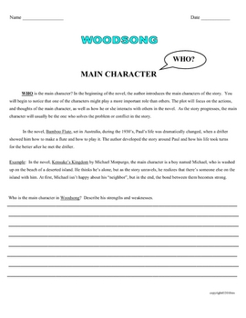 WOODSONG PACKET