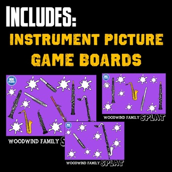 WOODWIND FAMILY SPLAT (WITH LISTENING EXAMPLES)